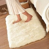 40*60 4.5cm thicken & SHAGGY super soft carpet floor area rug tapete slip-resistant door mat kids rug for living room
