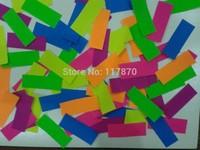 sell confetti paper for confetti cannon /party paper/ uv paper/fluorescent paper