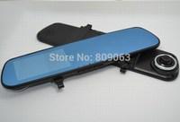 Full HD 1080P H.264 Car Rearview Blue Mirror Parking Back Up DVR CAMERA AS Car DVR IR Night Vision G-SENSOR Car Black Box