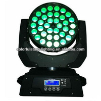 Free shipping High Bright 36x10W RGBW 4 in 1 LED Moving Head
