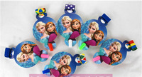 Free Shipping! Decoration Blowout Frozen Birthday Party Supplies, Cartoon Blowing Dragon Kids  Party Decoration, 6pcs/lot