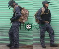 Men's Tactical Combat Airsoft Paintball Hunting War Game Clothes Combat Uniform Pants With Kneepads suit