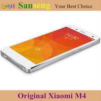 In stock Original Xiaomi Mi4 mi 4 M4 Snapdragon 801 Quad Core Cell Phones MIUI V6 1920*1080P 3GB RAM 16GB/64GB ROM 13MP Mobile