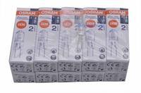 10pcs Osram 64415 10W 12V G4 Bipin 3000K 130lm Halogen standard 2years