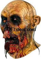 Halloween Adult Zombie Tongue Skull Horror  Monster  Mask Prop