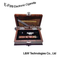 Electronic Cigarette Variable Voltage Skull X Fire E Fire Protank 2 Ego Twist Smoking E Cig Vaporizer Pen Wood Kit #L0016