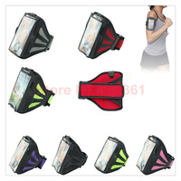 Universal sport running unisex breath freely fitness bodybuilding armband mobile phone bag for Samsung s3,s4,s5