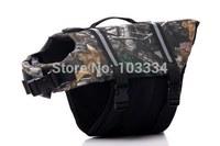 Pet Saver Dog Life Jacket Camouflage Color