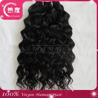 5A Grade Wet and Wavy Virgin Brazilian Human Hair 3pcs /lot,  Water Wave Brazilian Virgin Hair Weave