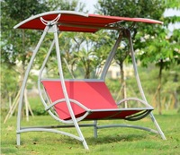 ODHB44 New style Outdoor swing bed yard hanging chair outdoor balcony double swing adult household cradle swing chair
