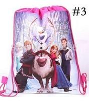 New Sale Frozen Lunch bag Box Elsa & Anna ,girl beautiful fashion Double non-woven bags