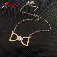 2014 new arrival short bowknot pendants & necklaces fashion gold plated alloy winter false collars for woman bijoux wholesale