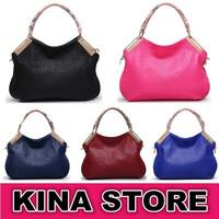 5 Colors Free shipping Fashion vintage women handbag crocodile pattern genuine  leather bag shoulder Alligator messenger bags