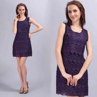 4 color beige/blue/pink /purple women fashion partty dresses,ever pretty women dress,summer dress for women,WHG75865