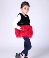 Free shipping 2014 new fall girls waistcoat children vest children's clothing wholesale