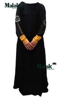 kaftan jilbabs in dubai and Islamic clothing for woman new fashion Embroidered dress stitching chiffon sleevebig skirt