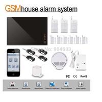 G1D-1 DIY Wireless GSM alarm System HOME Security BURGLAR ALARM KIT with PIR Sensor detector Siren Door/window sensor,gift box