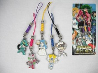 2014 New Hot Free shipping Anime Masami Kurumada Pendant Metal Cell Phone Strap Cosplay Gift figure keychain