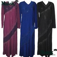 Islamic clothing for women abaya  kaftan islamic abaya  Handmade beading Abaya Jilbab Hijab Muslim Dress 3 colors