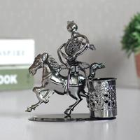 Wrought iron pen decoration desktop desk small home decoration crafts