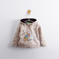 Children Hoodies Cartoon Child Sweatshirt spring all-match child 100% cotton napping fleeces boys girl top hoodie sport clothing
