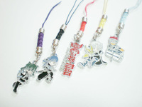 2014 New Hot Free shipping Anime  D.Gray-man Pendant Metal Cell Phone Strap Cosplay Gift figure keychain