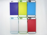 2014 new arrival fashion tpu case for iphone 6 bright colorful cover for iphone 6 with card slot free shipping