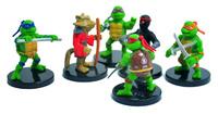 6x Teenage Mutant Ninja Turtles TMNT PVC Figure Set TOYs Cake Topper /Leonardo Da Vinci/ Raphael/Michelangelo/Donatello etc.