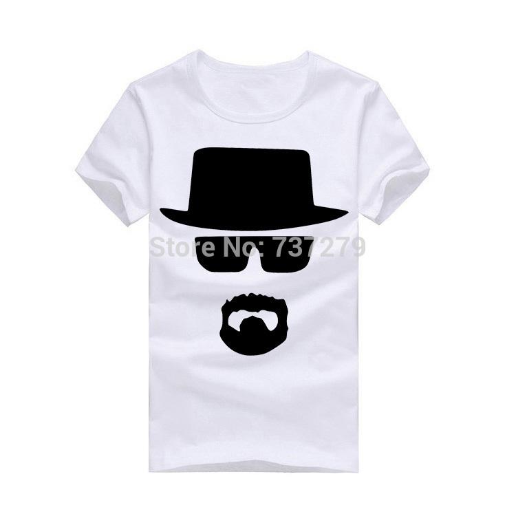 New Spring T-shirt Men Breaking Bad Heisenberg Tshirt Men COOK Walter Fitness Men's Clothing(China (Mainland))