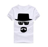 New Spring T-shirt Men Breaking Bad Heisenberg Tshirt Men COOK Walter Fitness Men's Clothing