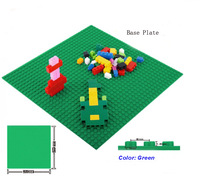 Banbao Building Blocks Toy BasePlate 8482 Green Color 25.5*25.5 cm Educational Construction Bricks Toys for Children Compatible
