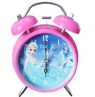 Frozen Clock Cartoon Alarm Clock colors ELSA queen ELSA creative cartoon alarm clock