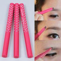 Waterproof Dark Brown Eyebrow Pencil Eye Brow Liner Powder Shapper Makeup Tool #61263