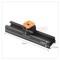 "Adjustable 4"" rail Easy Hood  Hot Shoe Cold Shoe Extension Rail Bar For Canon Nikon Camera"