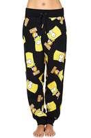 Hip Pop Sweat Pants New 2014 Women Jogger Bart Simpson Cartoon Joggers Drawstring Sport Pants XS-XXL