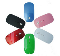 Free shipping 3PCS/ LOT 2.4GHz Wireless optical mouse with USB Dongle 10m range Cordless Scroll Computer PC Mice for mac gaming