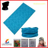 lingshang 2014 new cheap printed with beautiful design bandanas wholesale scarf microfiber motorcycle bike bicycle bandanaLST-63