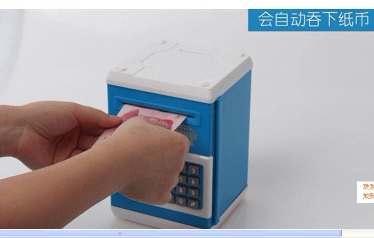 Password box shape saving box money bank coin box, child toy,piggy bank, mult-function coin box.(Hong Kong)