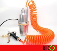 Portable Deep Well Pump Pressure Power Washer 40 PSI Hand Pump Up Power Jet Car Wash
