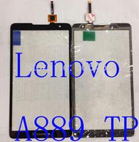 Black Original Lenovo A889 Touch Screen Digitizer  Glass Replacement for Lenovo A889 phone