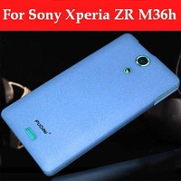 New Arrival Back Cover Case For Sony Xperia ZR M36h Frosted Matte Cover Protective Case 2 Series For Sony M36h Free Shipping