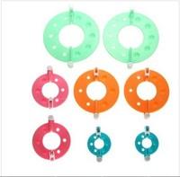8Pcs 4 Sizes Essential Pom Pom Maker Fluff Ball Weaver Needle Craft Knitting Tool DIY needlework AE01140