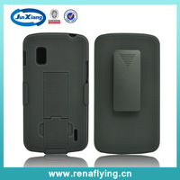 Hot selling mobile phone case cheap holster combo cell phone cover for LG E960