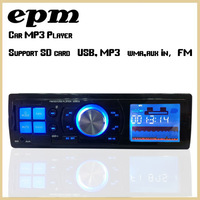 Car Audio Radio mp3 1Din Stereo fm transmitter Sound In-Dash With USB SD Input FM Receiver for MP3/4 Player AUX 3.5mm