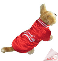 Fall and winter clothes Baseball, Yankees costume  fit for Chihuahua, Ted, poodles,bulldog,yorkshire puppy dog post it free
