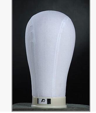 Wig plastic head, cloth mannequin head disp