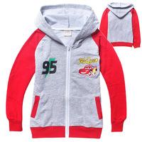 2014 hot sell wholesale new childrengirl fashion spideman  Hoodle cotton leisurepink Sweater overcoat