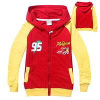 wholesale new childrengirl fashion spideman  Hoodle cotton leisurepink Sweater overcoat