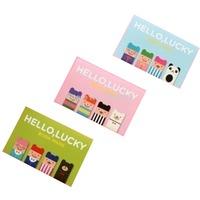 (4 pcs) Free Shipping Korea lovely Stationery Wholesale Cartoon Magnet Bookmarks creative Gift