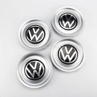 4PCS VW Logo Wheel Center Hub Rim Cap Cover 1J0601149B for Golf Jetta MK4 155mm